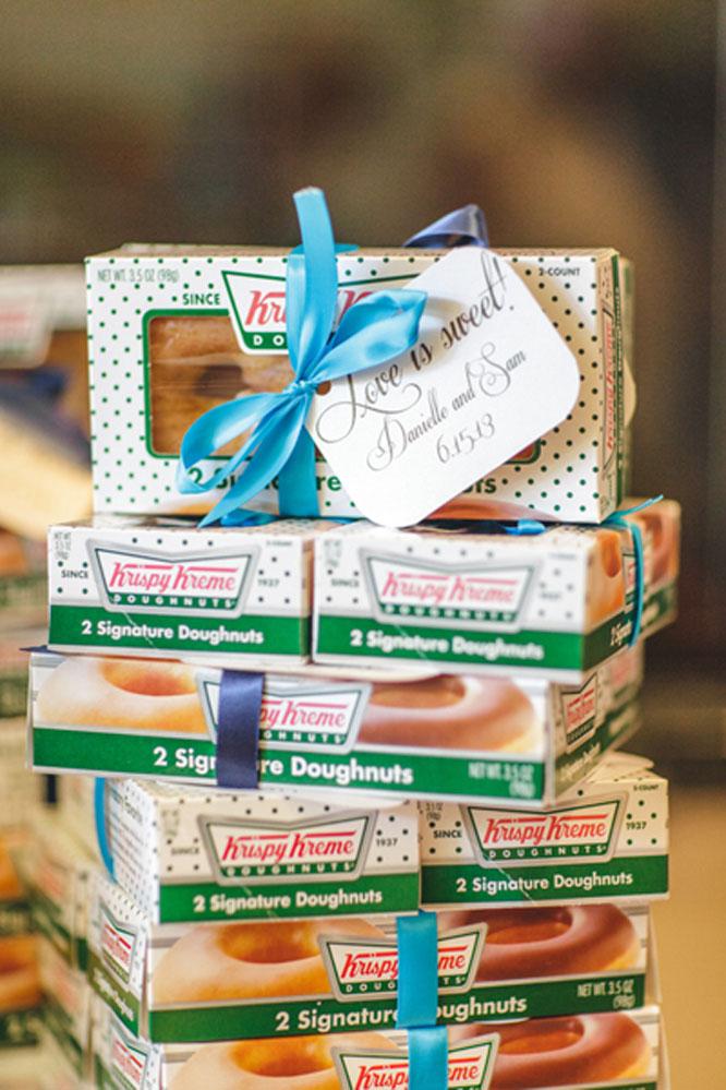 Krispy Kreme Wedding Favors Doughnut Wedding Favors Images