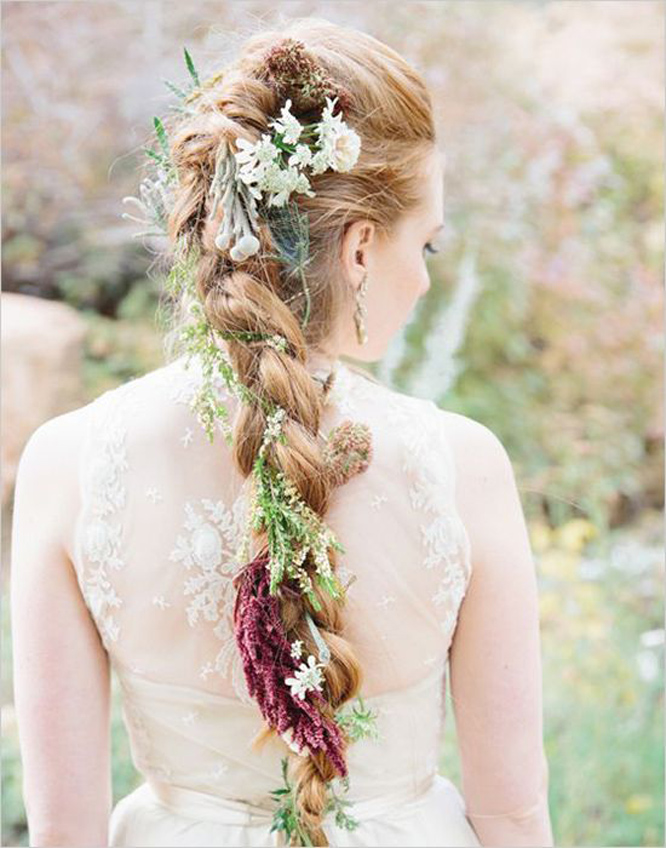 Irish Bridal Hair