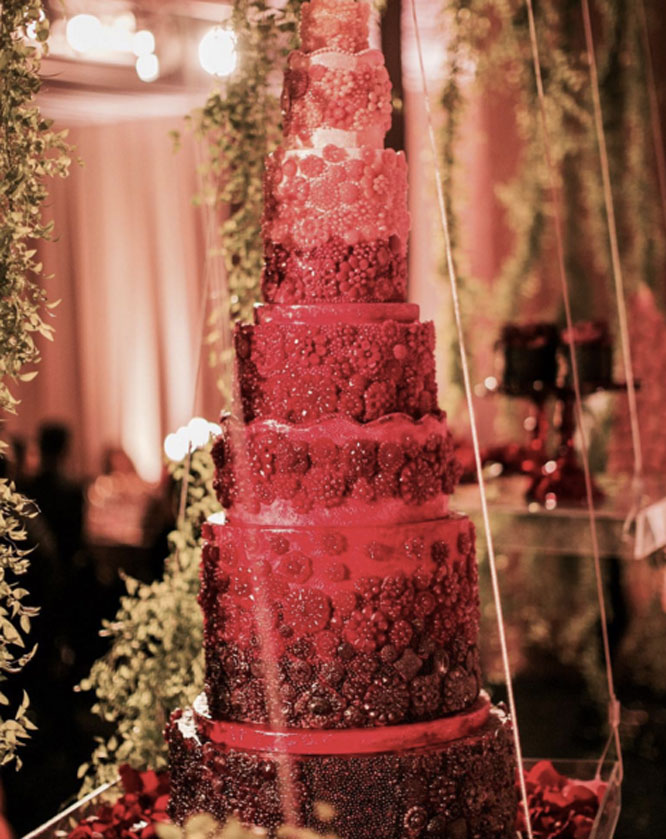 A Wish and a Whisk Wedding Cake