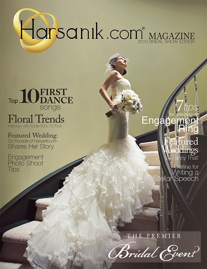 2010 Bridal Show Magazine Cover