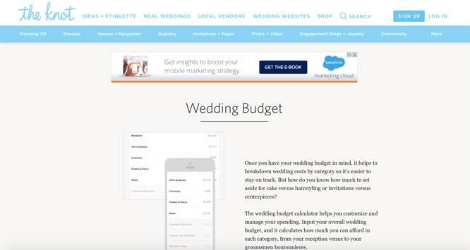 harsanik harsanik s three favorite wedding budgeting tools