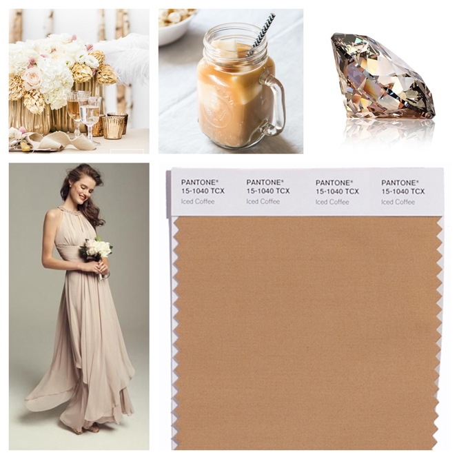Iced Coffee color board