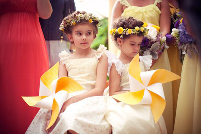 Flower girl windmills