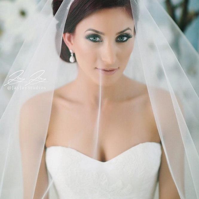 Bridal Veils Photo by Jay Jay Studios