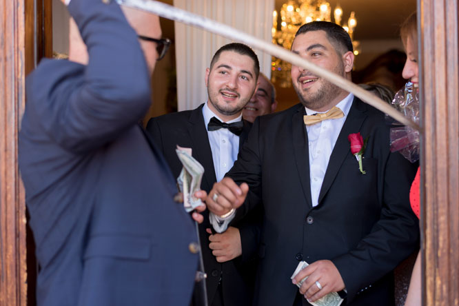 Armenian Wedding Tradition: Ando & Angie