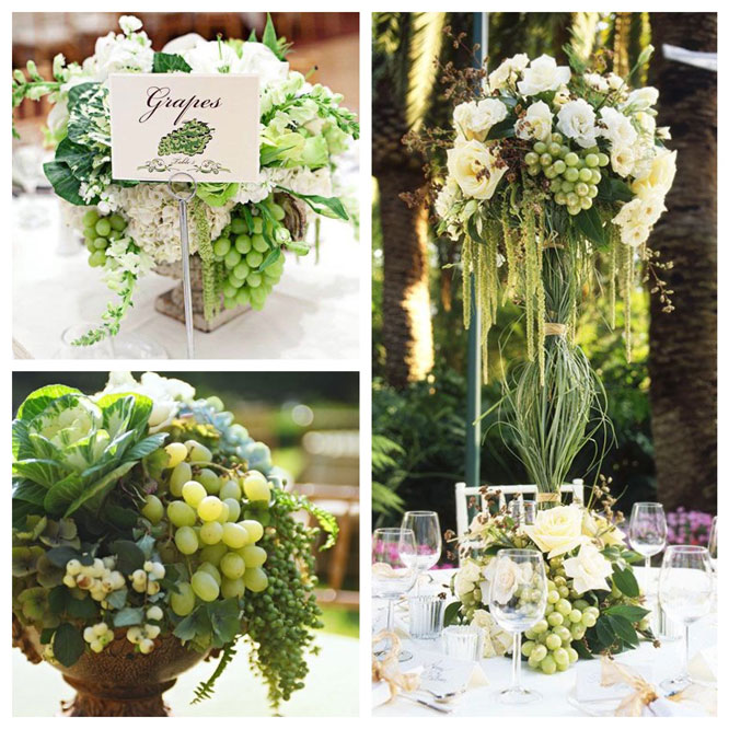 Christine's centerpiece inspiration