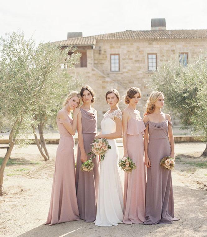 Harsanik Spring Summer Bridesmaids Dress Color Inspirations