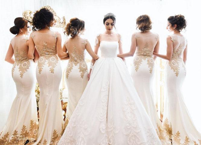Harsanik - Spring/Summer Bridesmaids Dress Color Inspirations