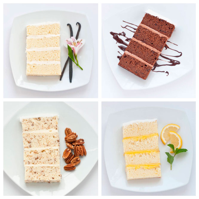 Lovely Cake Flavors Pictures