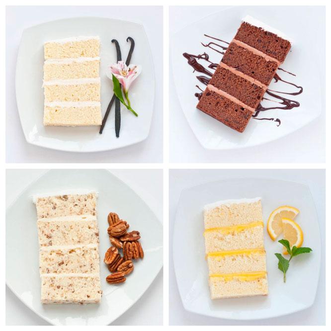 Harsanik - 15 Unique Flavors for Wedding Cakes