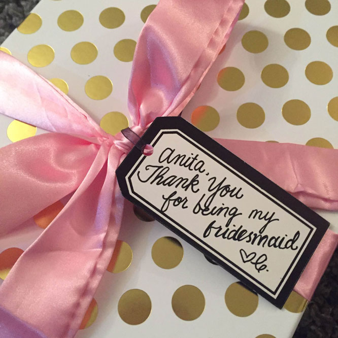 Christine's Story Gifts for Bridesmaids