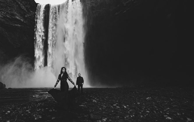 Mikhail and Varti Iceland Photoshoot
