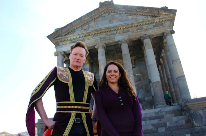 Conan and Sona in Armenia
