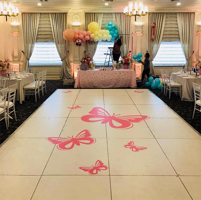 New Trend: Dance Floor Design