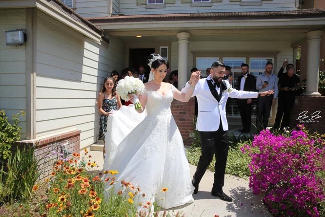 Armenian Wedding Tradition Bride & Groom Leaving Bride's House