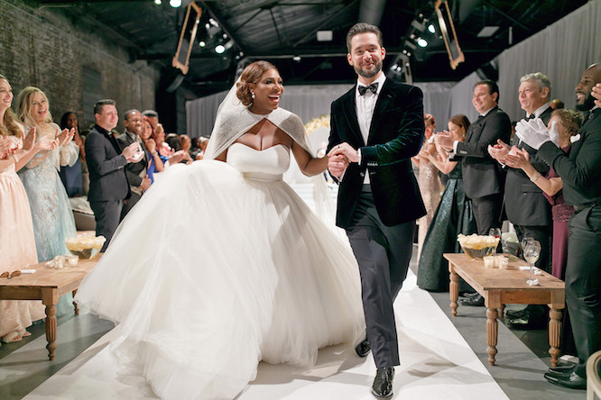 Alexis Ohanian & Serena Williams Wedding