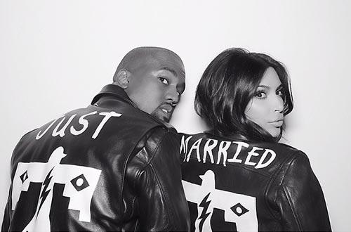 Kim & Kanye Tie The Knot