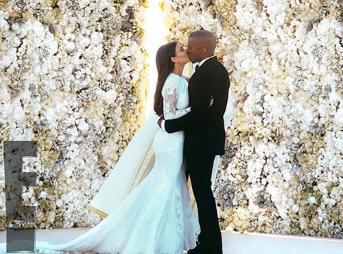 Featured Wedding: Kim Kardashian & Kanye West