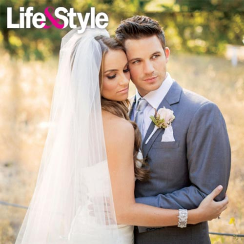 Celebrity Wedding: Matt Lanter & Angela Stacey